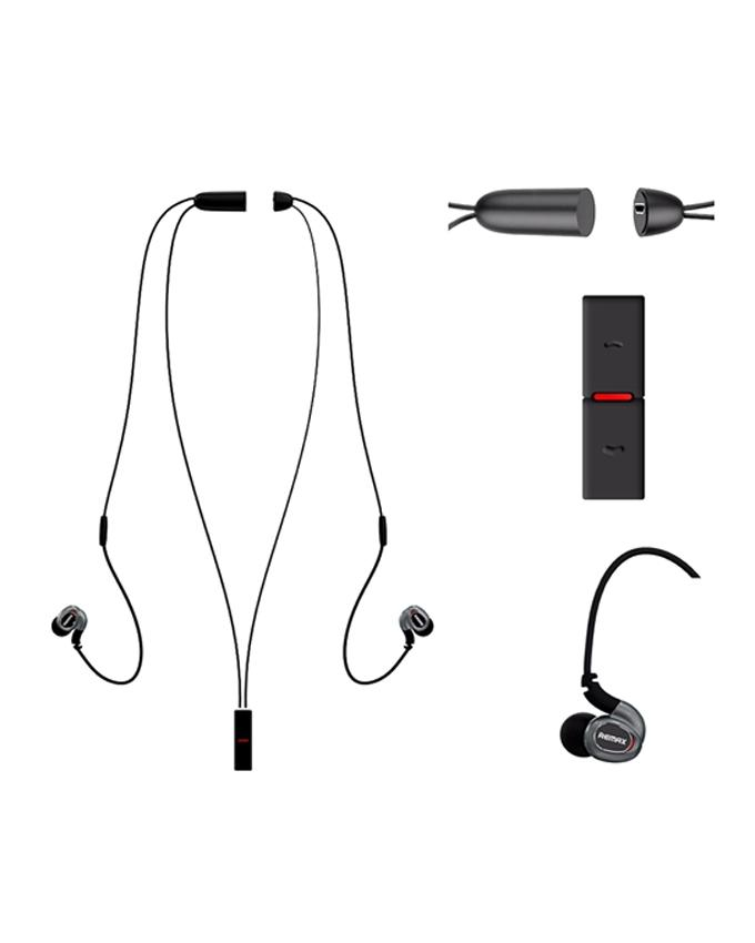 Neckband RB S8 - Bluetooth Earphone - Black