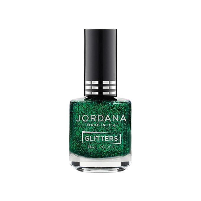 Green Glitz Glitters Nail Polish - 15ml