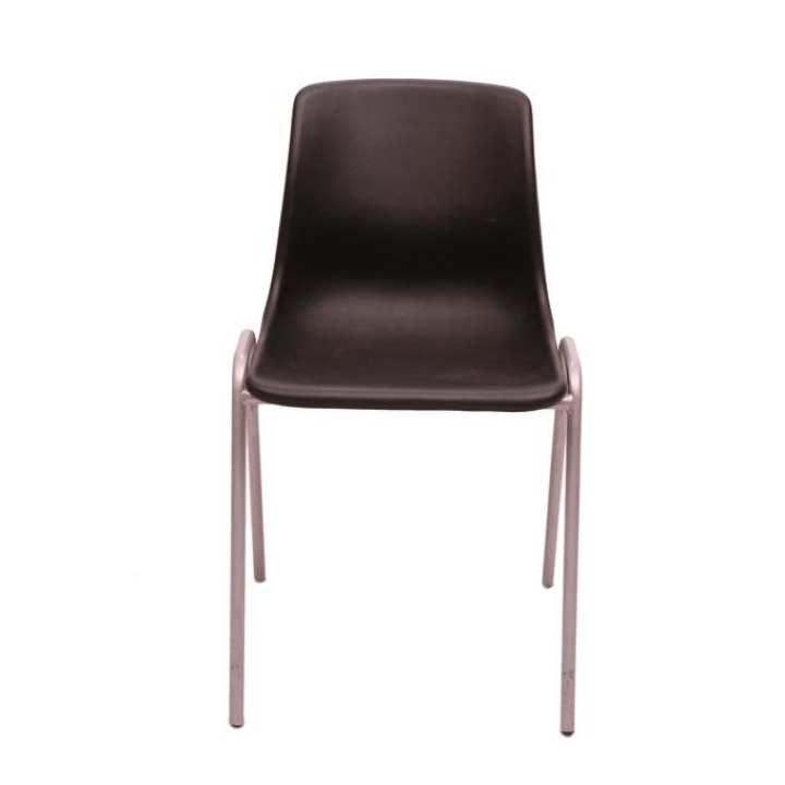 Steel Chair Series - CH-01 MS - Black