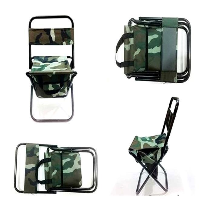 Portable Pocket Chair - Army Printed