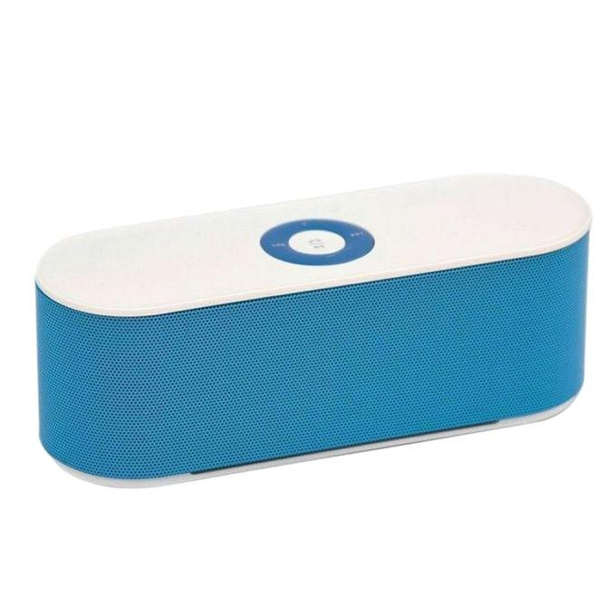 S207 - Portable Bluetooth Speaker - Blue and White