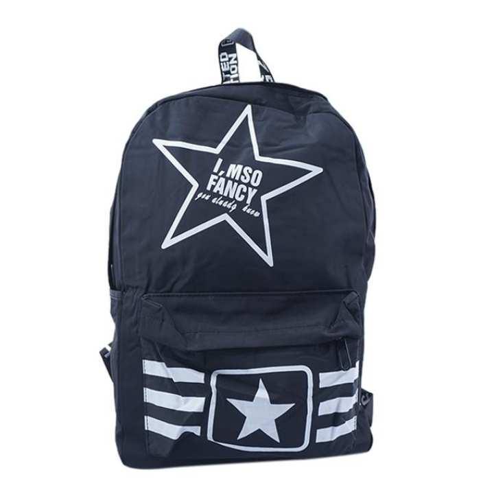 Polystar Backpack For Men - Black