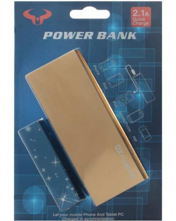 OX Power Bank 5000mAh - Gold