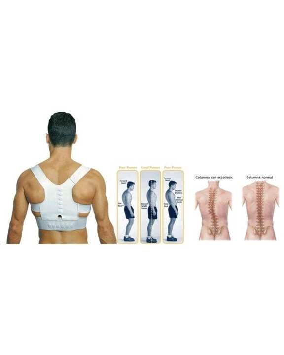 Power Magnetic Posture Support - White