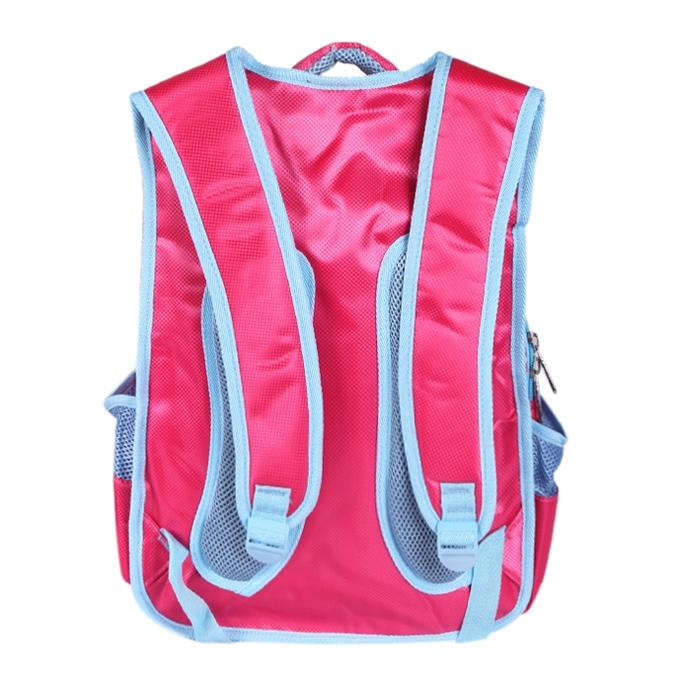 Pink Polyester School Bag For Girls