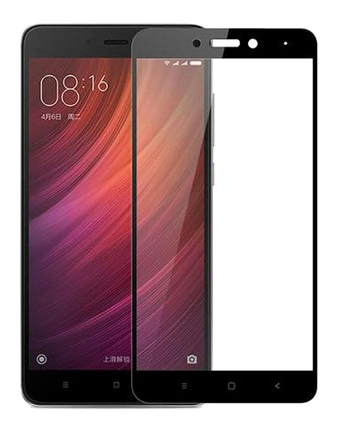 Full Curved Tempered Glass for Xiaomi Redmi Note 4 - Black