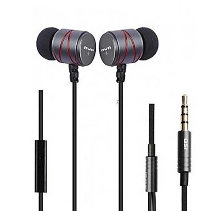 Q5i In-ear Earphone - Gray and Black