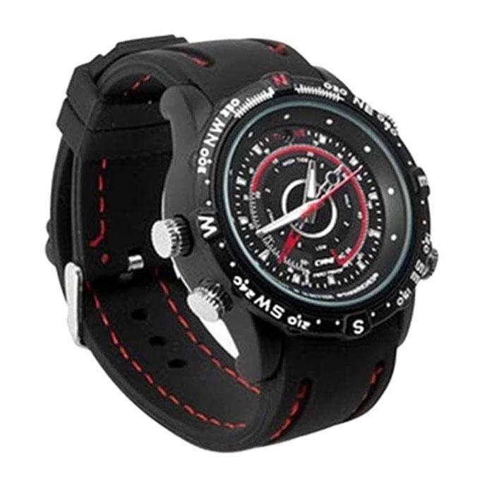 DVR Spy Watch Smart Watch - Black