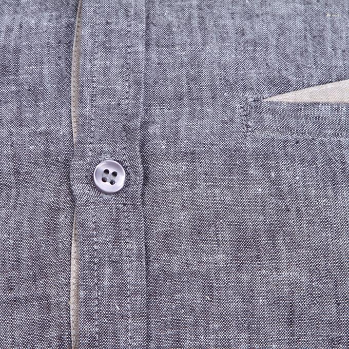 Gray Cotton Shirt For Men