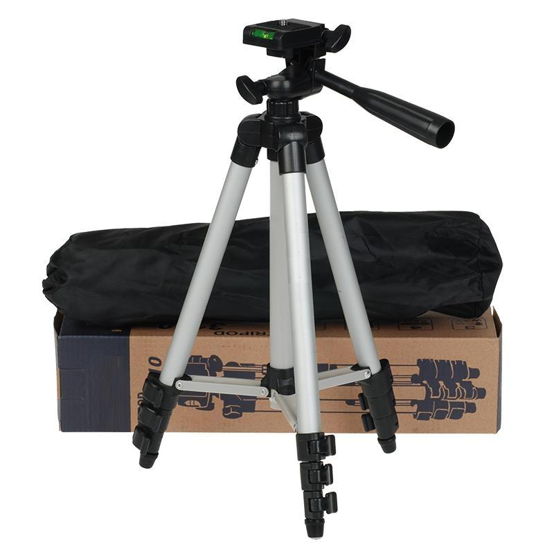 Tripod 3110 Camera Stand - Black and White