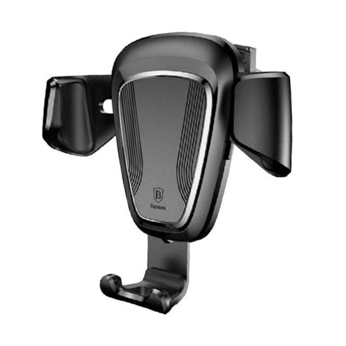 Gravity Car Mount Air Vent Phone Holder Stand Black