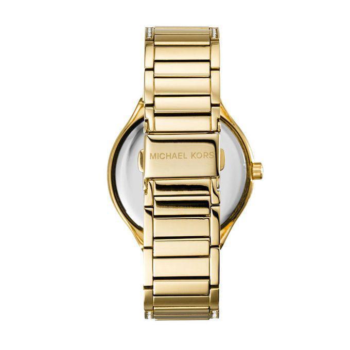 MK3312 Stainless Steel Quartz Analog Watch for Women - Gold Tone