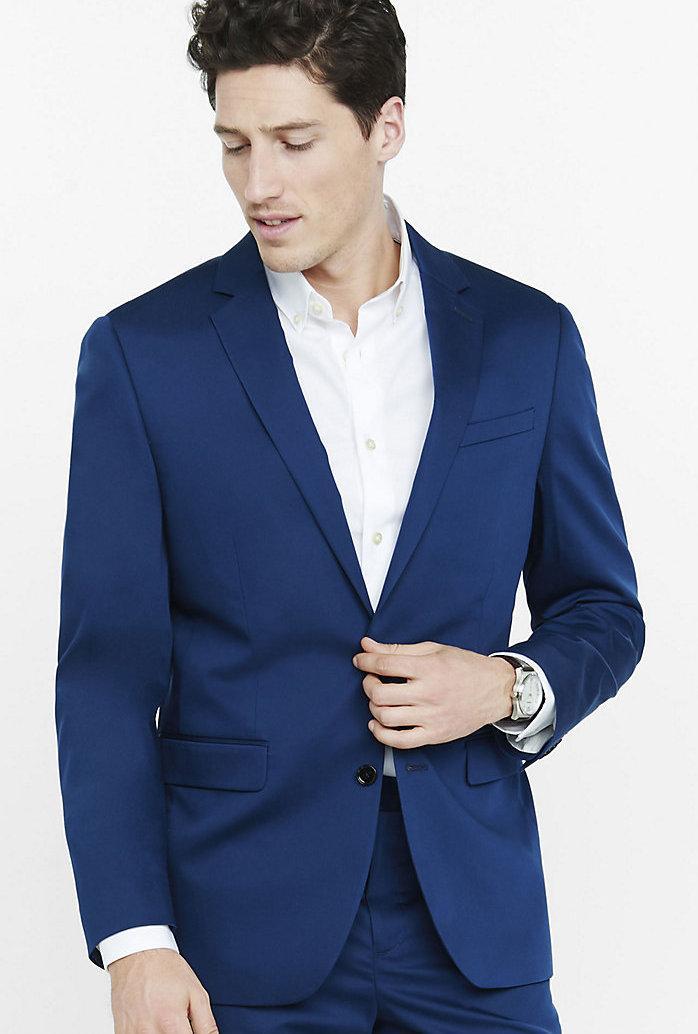 a408a0fc8 F&F Slim Fit Casual Blazer - Royal Blue