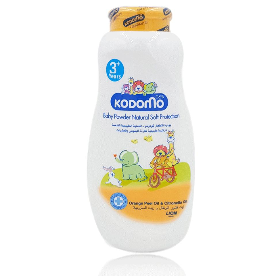Kodomo Baby Powder Natural Soft Protection 450gm