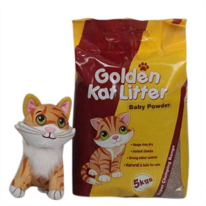 Golden Kat Litter Lavender 5KG