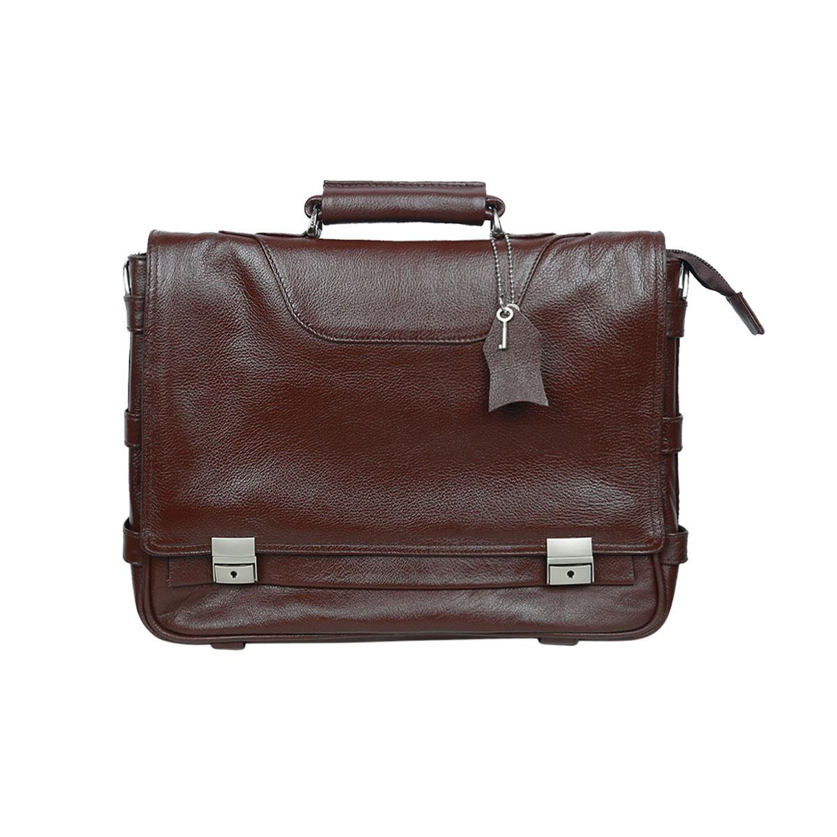 a3e5711e9 Buy Ismail Leather Men Business Bags at Best Prices Online in ...
