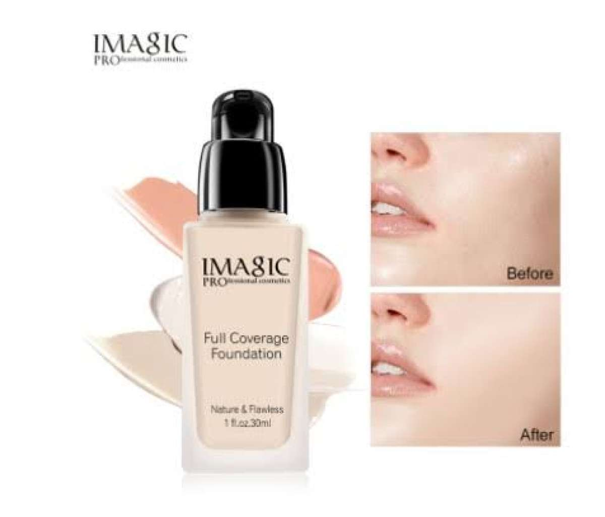 Imagic Full Coverage Foundation 1214 Natural Buff Buy Online At Best Prices In Bangladesh Daraz Com Bd