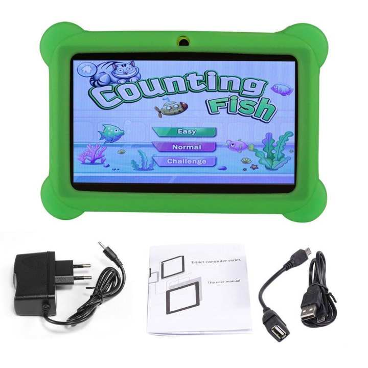 Q88 7 inch Children Tablet 512MB+4GB A33 Quad Core Android 4.4 PC