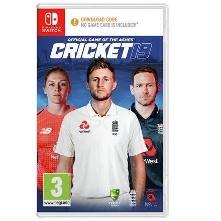 Cricket 19: Official Game of the Ashes Nintendo Switch Game