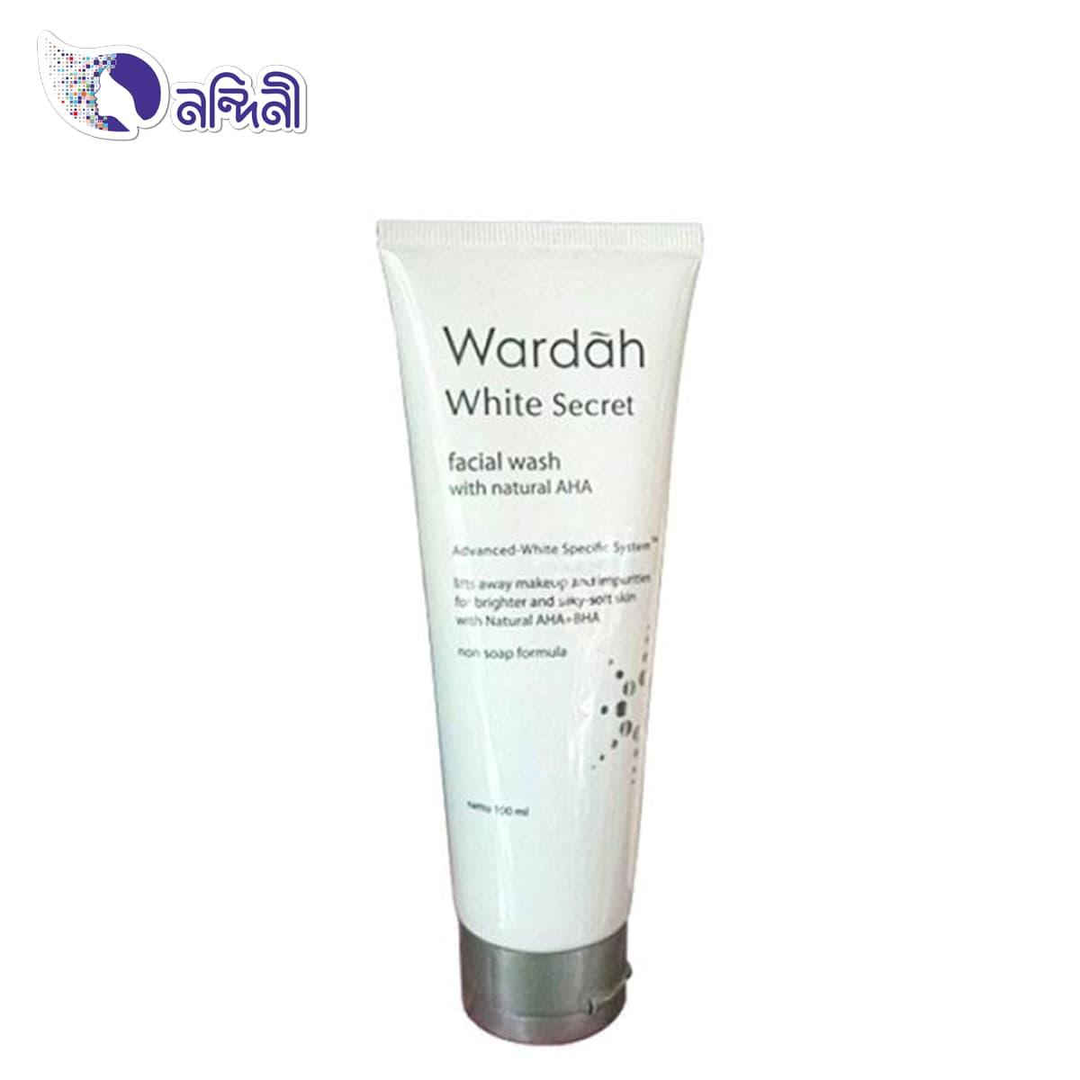 White Secret Facial Wash With Aha - 100 ml