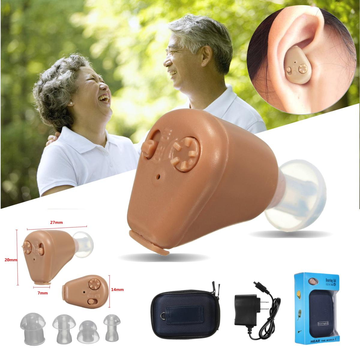 Hearing Aid Rechargeable Mini Ear Sound Amplifier