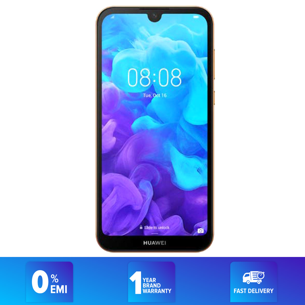 Huawei  Y5 2019 - Smartphone - 5.71  - 2GB RAM - 32GB ROM - 13MP Camera