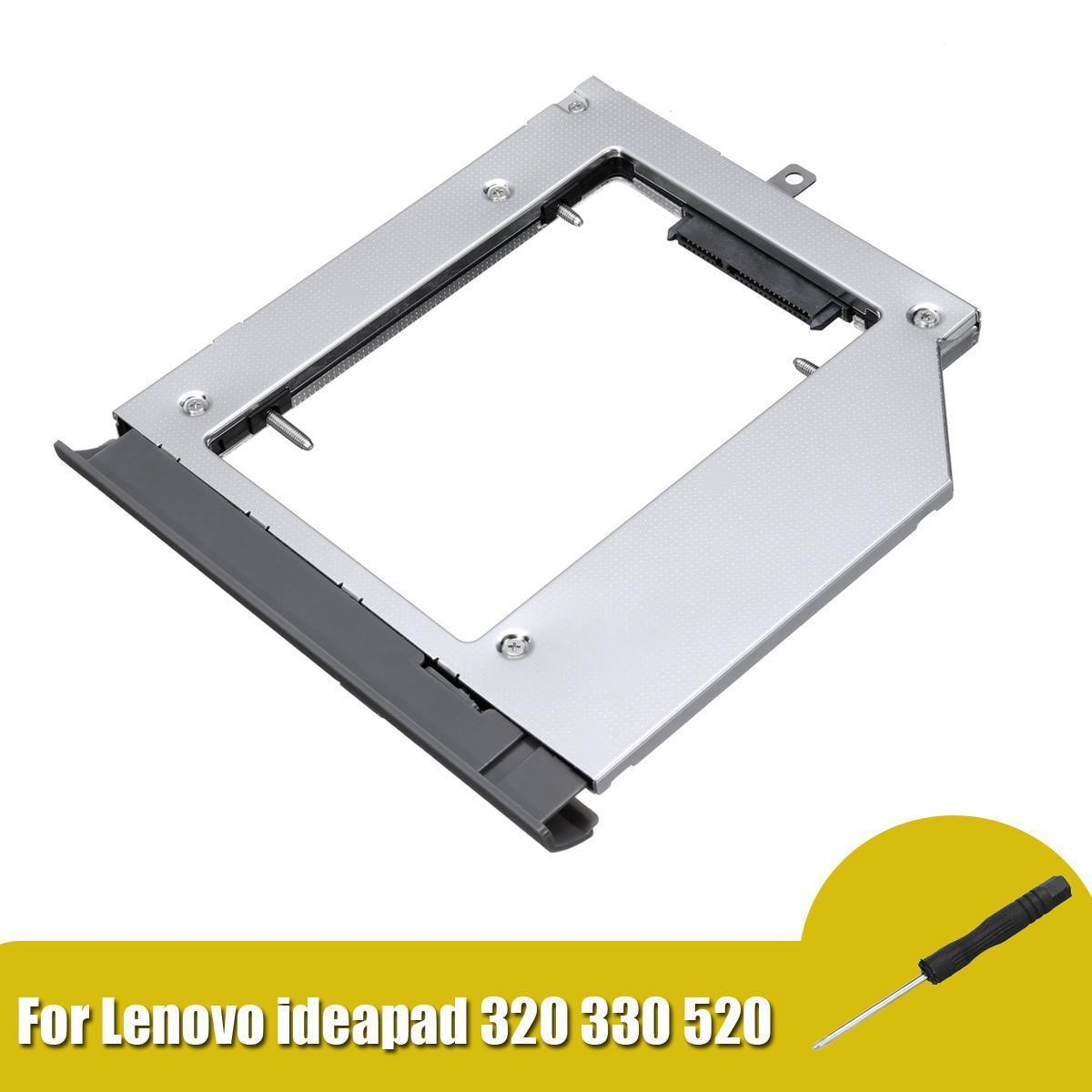 Optical Hard Drive Bay Cd-Rom Caddy Case For Notebook ideapad 320 330 520