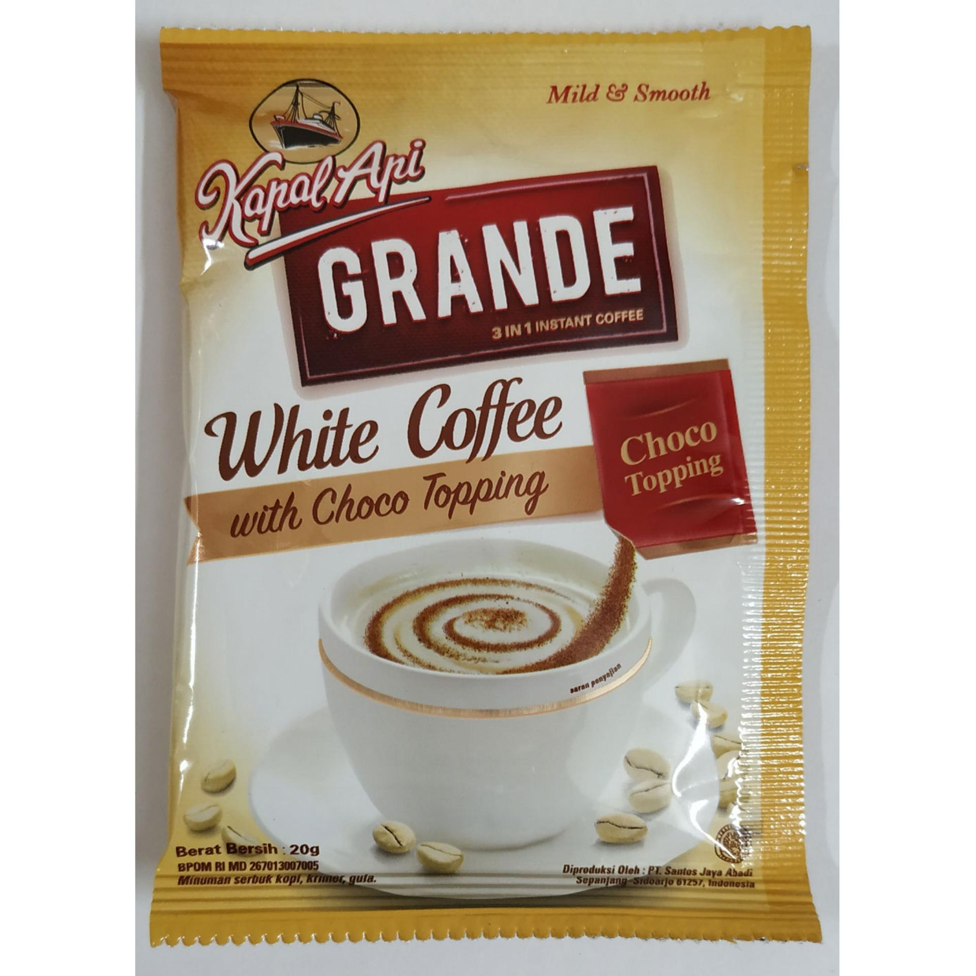 KAPAL API Grand White 3 in 1 Instant Coffee-20gm