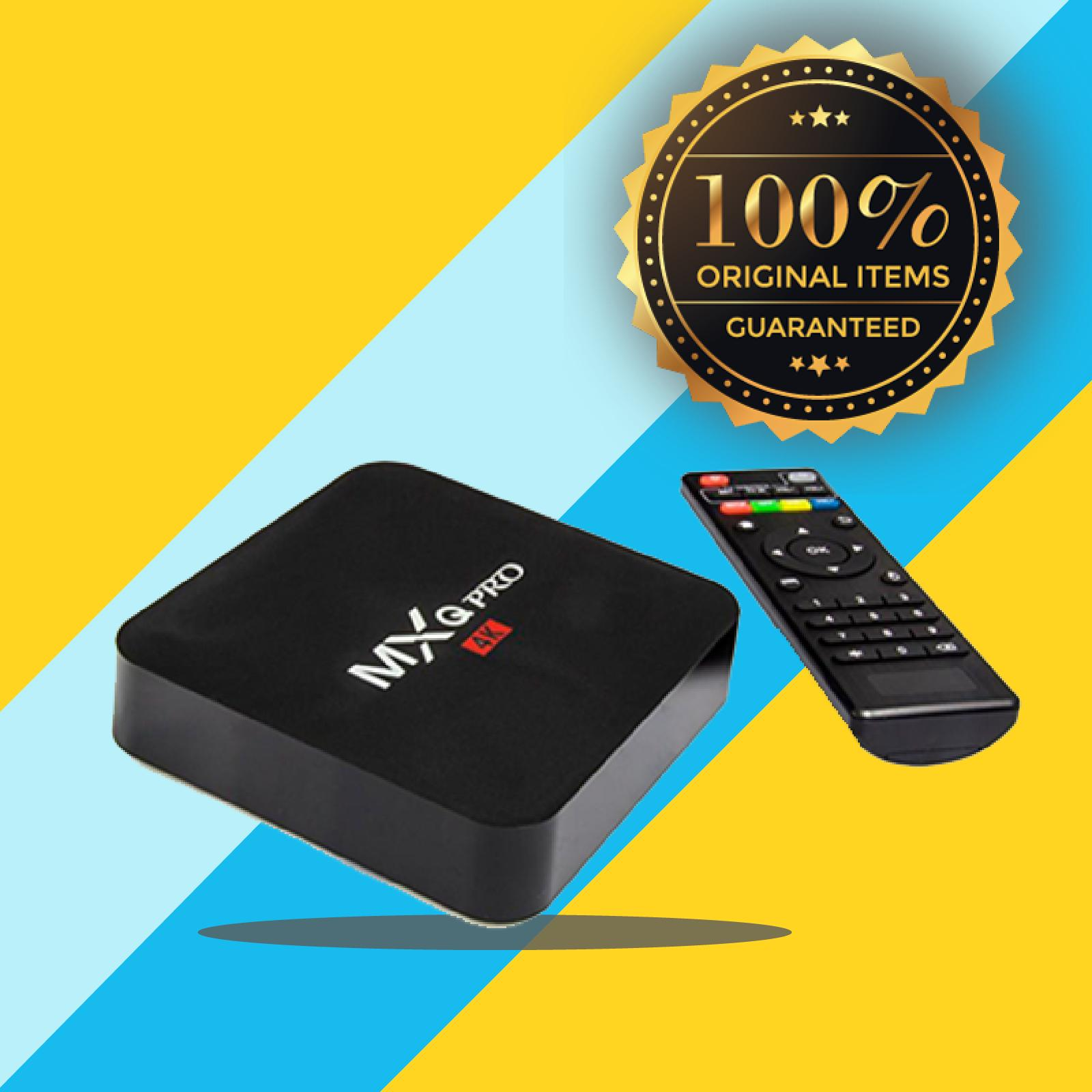 【Flash Deal】 MXQ PRO 4K Android Smart TV Box - Black - Best Price