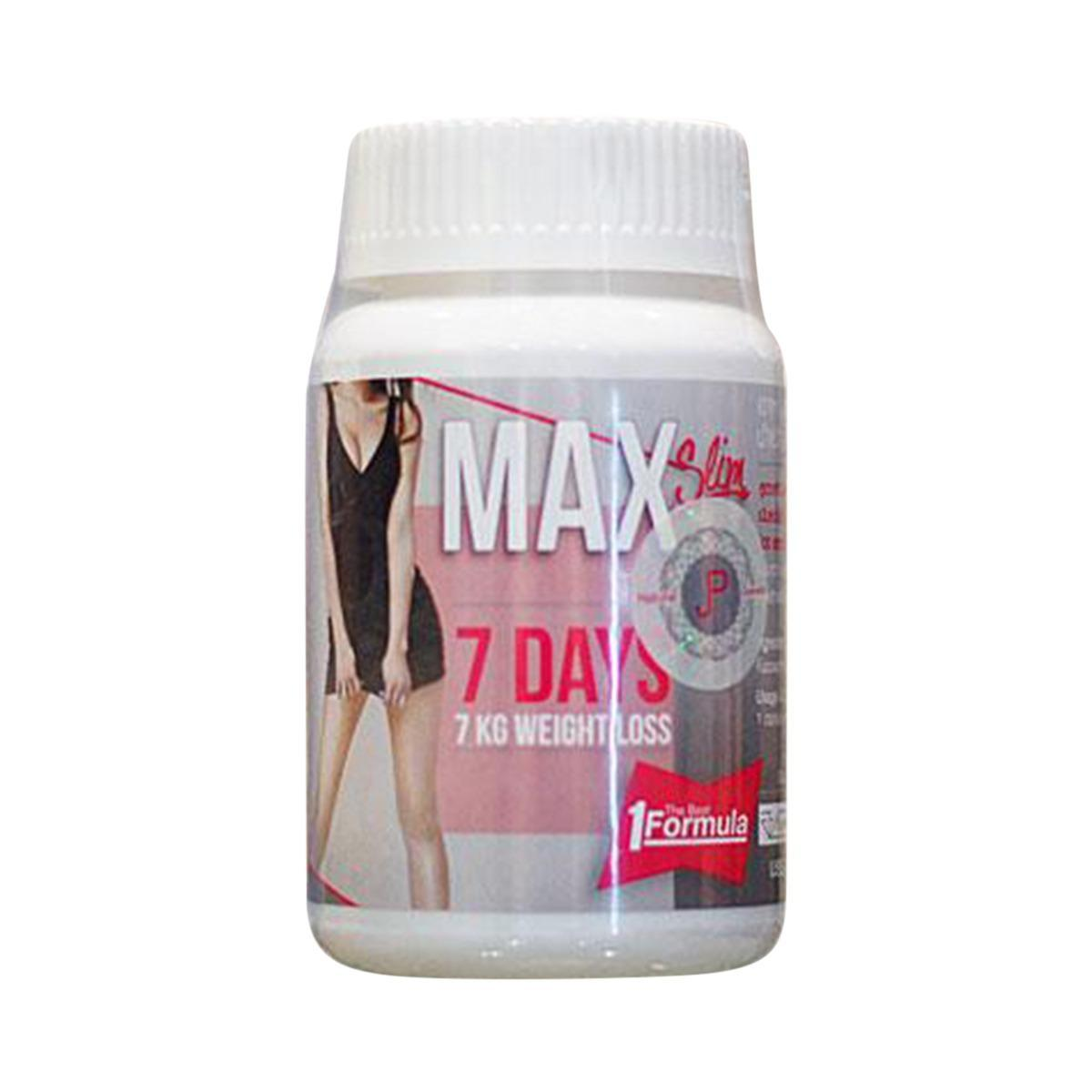 Max Slim 7 Days 7 Kg Weight Loss Dietary Supplements Slimming Product Fat Burn Formula 30 Pills No Yoyo Capsules Weight Loss Tablets