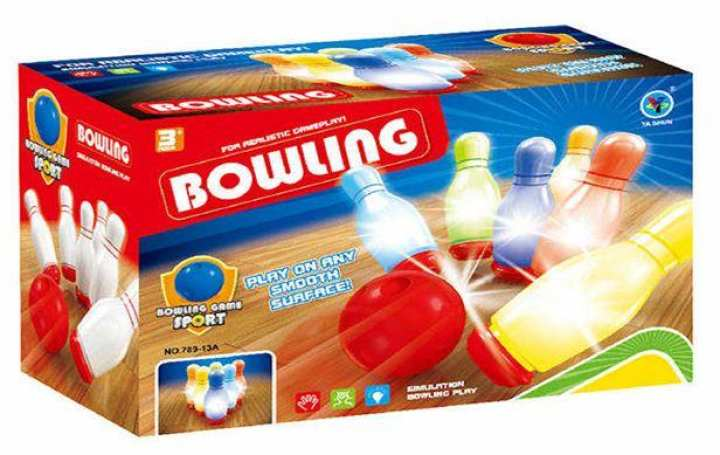 Bowling Set with Light