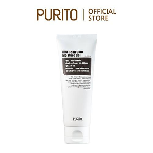USA formulated PURITO BHA Dead Skin Moisture Gel