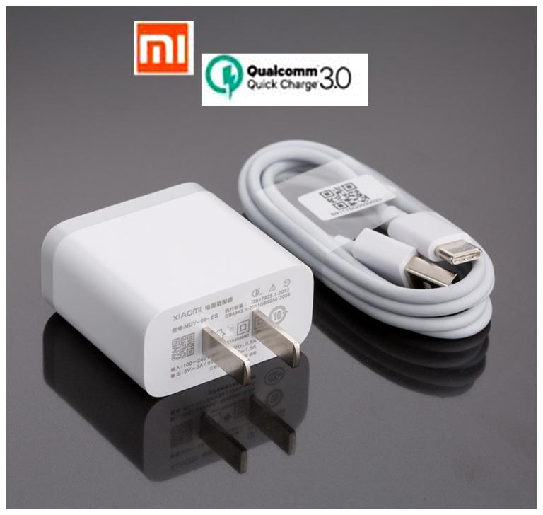 Original Xiaomi QC3.0 Fast Charger Type-C Cable MDY-08-ES