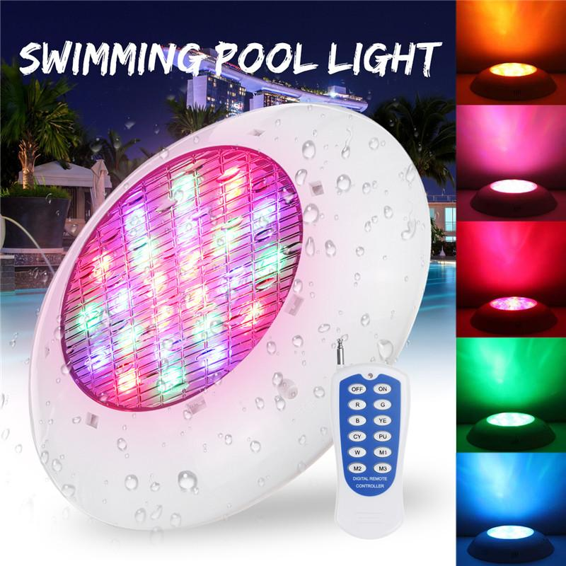 25 55 80w Rgb Swimming Led Pool Lights Spa Underwater Light Ip68 Lamp Control