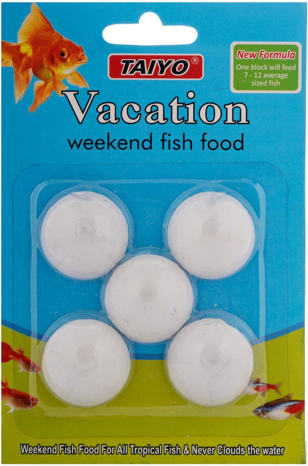 Taiyo Special Holiday Fish Food 1x4 1pack When You Go On Vacation You Can Put One Pcs In Aquarium It Will Stay Minimum 1 Week Buy Online At Best Prices In Bangladesh