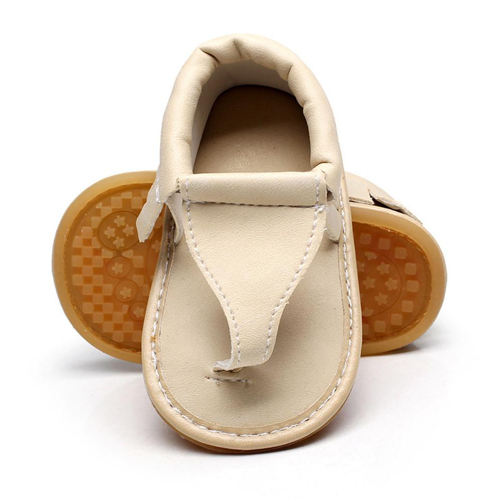 Children Baby Casual Beach Sandals Summer Solid Sole Crib Hollow Shoes Sneaker Baby Girls Outdoor Shoes