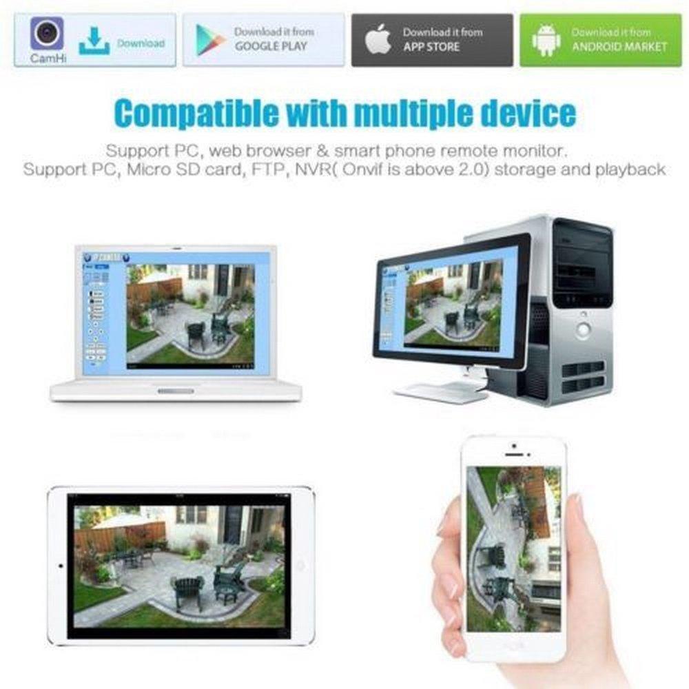 TE Wireless IR 720P Home Security Network CCTV IP Camera Night Vision WIFI  Webcam