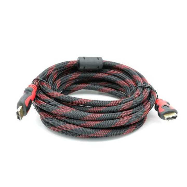 HDMI Cable 3M - Black and Red
