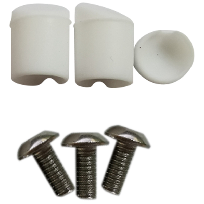 Replacement rear back fender mudguard screw rubber caps For Xiaomi