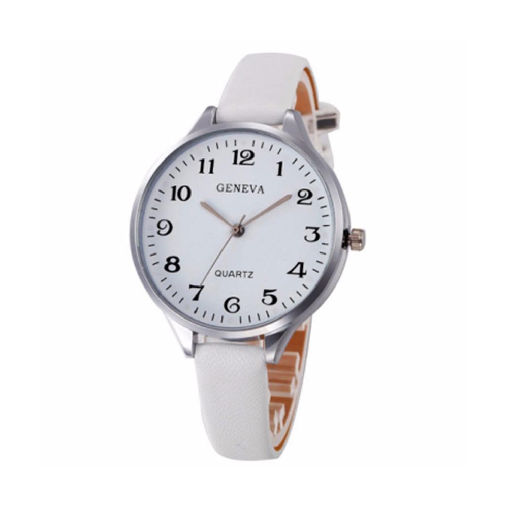 7d34357652a Fashion Trend Ladies Belt Watch Digital Diamond Flower Quartz Watch Female  Leather Watches For Womens