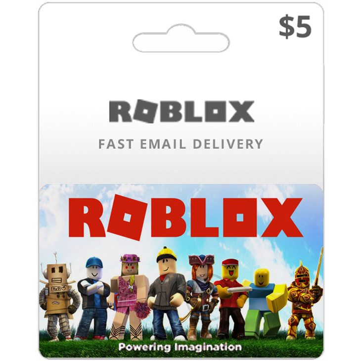 Roblox 5 Usd Gift Card Prepaid Instant Email Delivery Buy Online At Best Prices In Bangladesh Daraz Com Bd