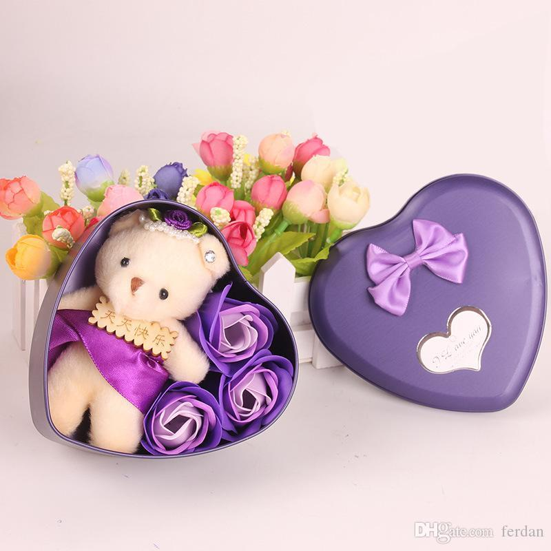 Dhgate Com 2019 Artificial Bouquet With Cute Plush Bear Valentine Day Wedding Gift Fake Buy Online At Best Prices In Bangladesh Daraz Com Bd
