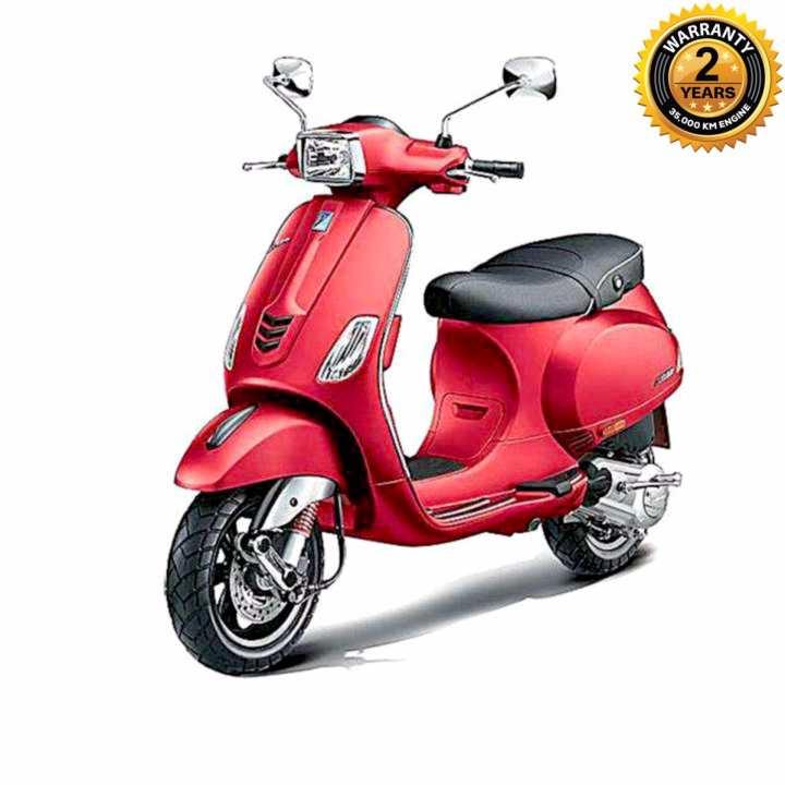 SXL125 125cc Scooter - Matte Red