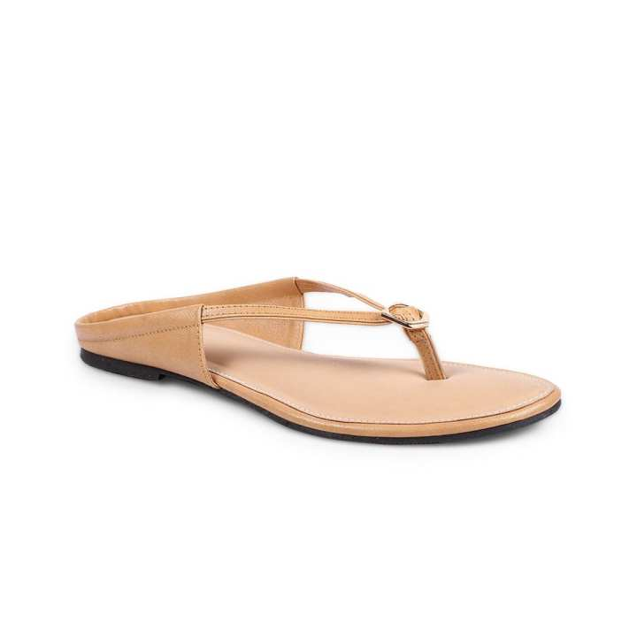Artificial Leather Flat Sandal for Women