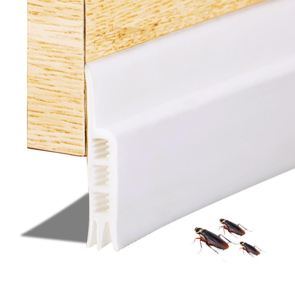 Door Seal, Weather Stripping Under Door Draft Stopper Door Insulation  Soundproof for Door Bottom Bugs Stopper