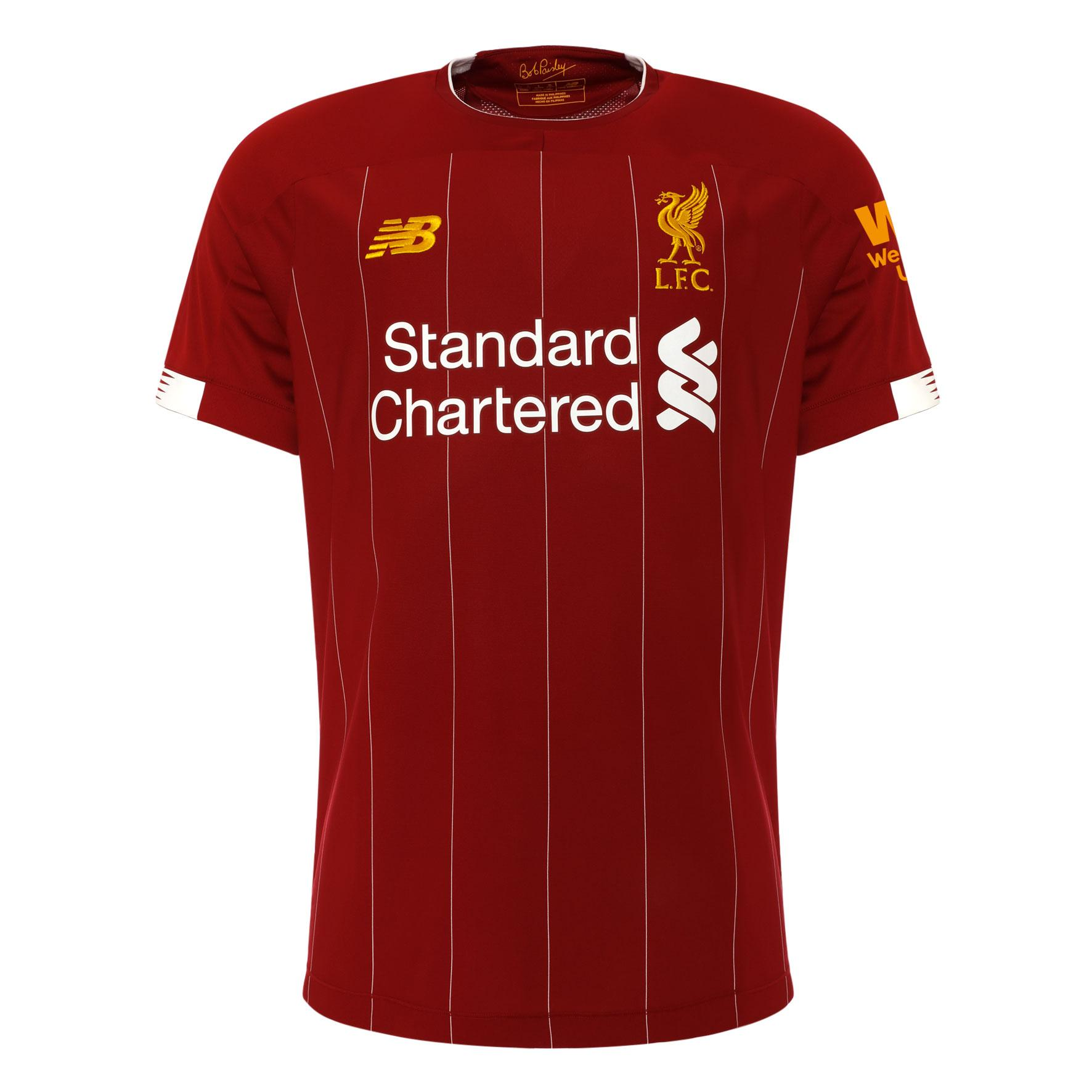 new product 45a1a 838b3 2019/20 Liverpool Home Short Sleeve Jersey (Thai Quality)