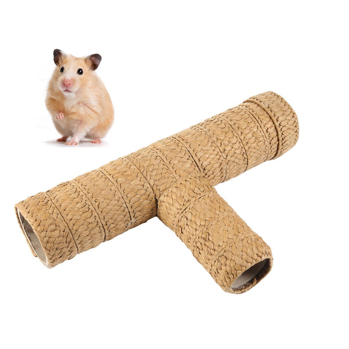 Small pet supplies hamsters can smash the paper tube hamster tunnel climb  pet channel hamster tunnel nest tunnel toy