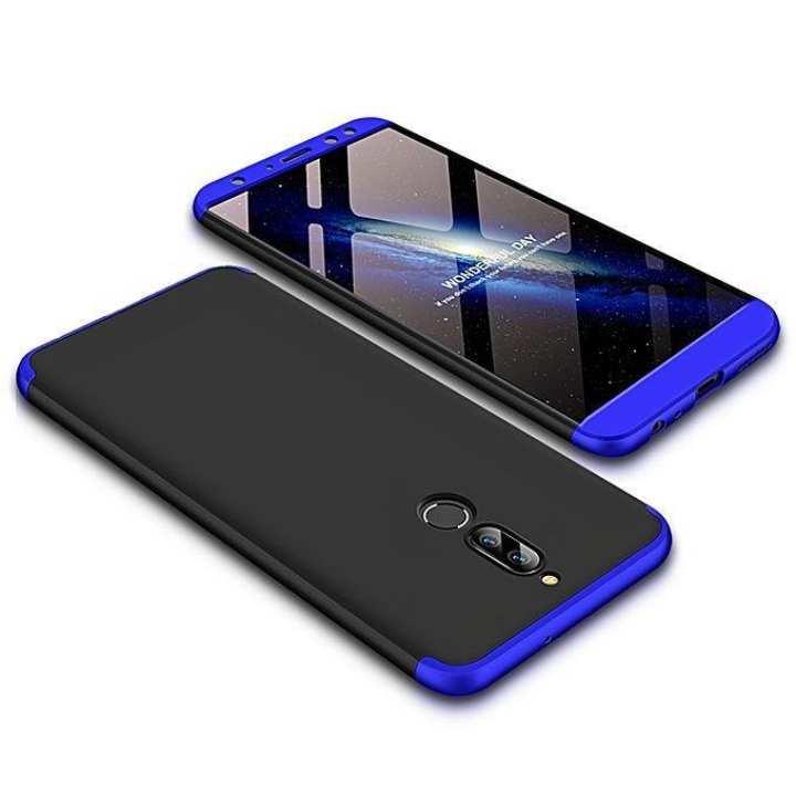 Huawei Nova 2i 360 Degree GKK Phone Back Cover - Black & Blue