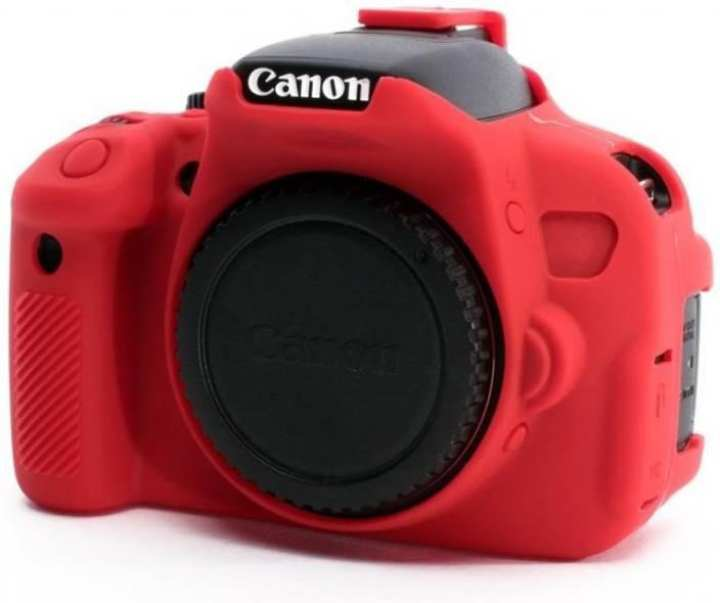 Silicone Case For Canon 700D  - Red