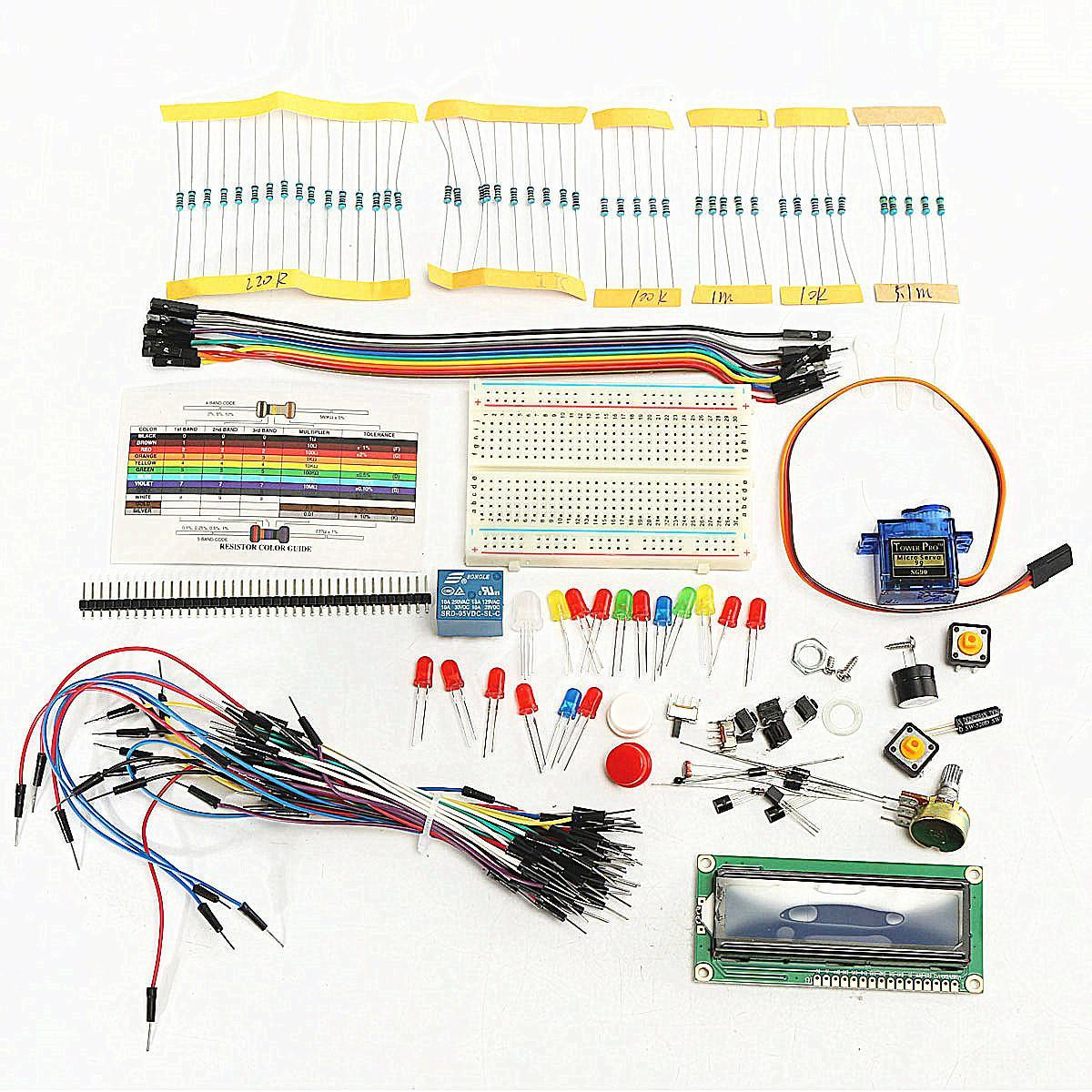 Project 1602 LCD Starter Kit For Arduino UNO R3 Mega 2560 Nano Servo LED PDF